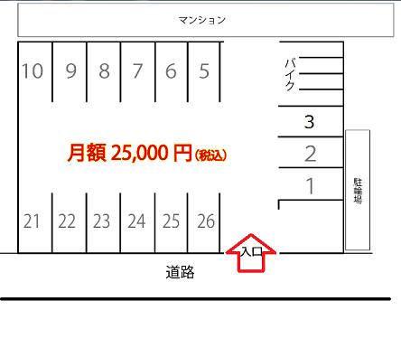 西馬込駐車場 区画図.png